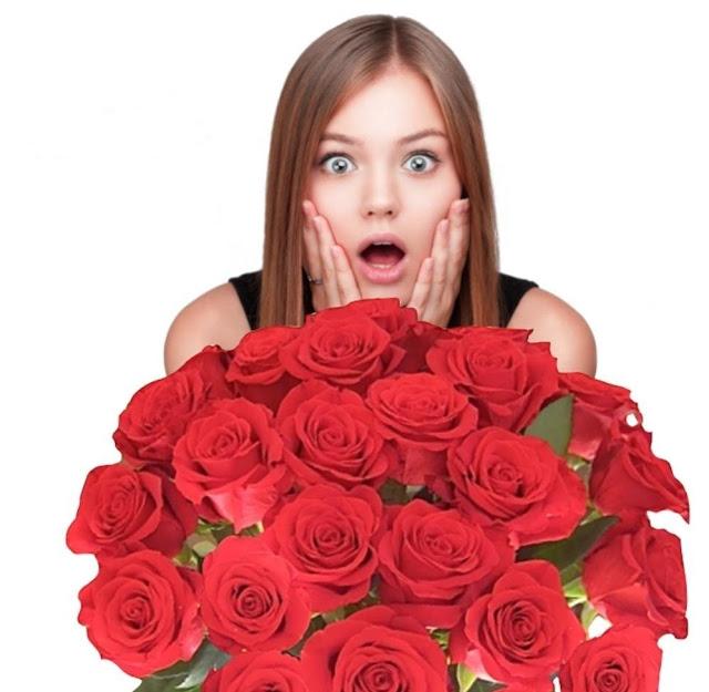 Nàng sẽ phải ngạc nhiên khi nhận hoa từ một em bé.